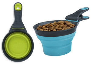 Dexas Collapsible Klip Scoop Bowl