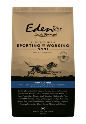 Eden Fish Cuisine Dry Dog Food