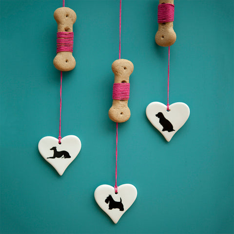 Victoria Armstrong Hanging Hearts