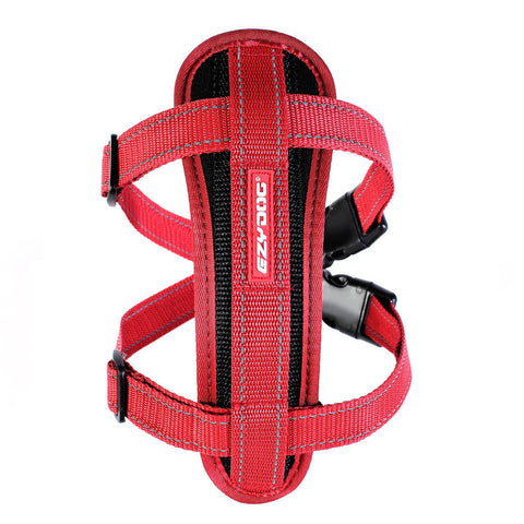 Ezy Dog Chest Plate Dog Harness Red