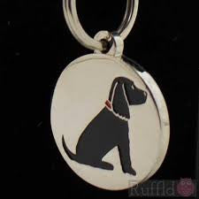 Sweet William ID Tag - Cocker Spaniel Black