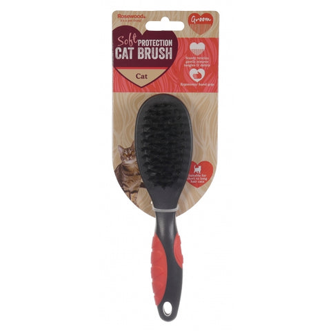Rosewood Soft Protection Cat Brush