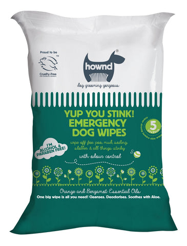 Hownd Yup You Stink! Emergancy Dog Wipes