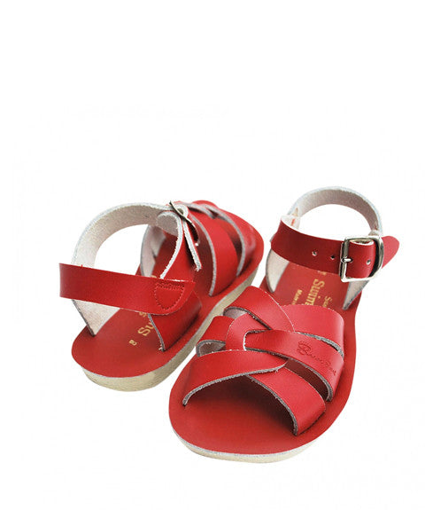 Swimmer Sandal in Red By Sun-San