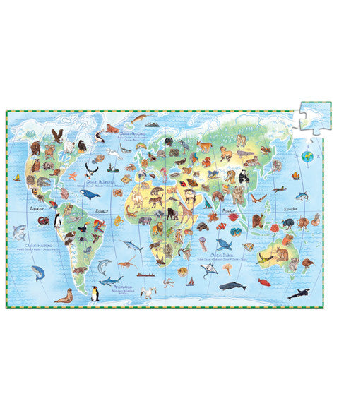 Observation puzzle - World's animals 100 pces