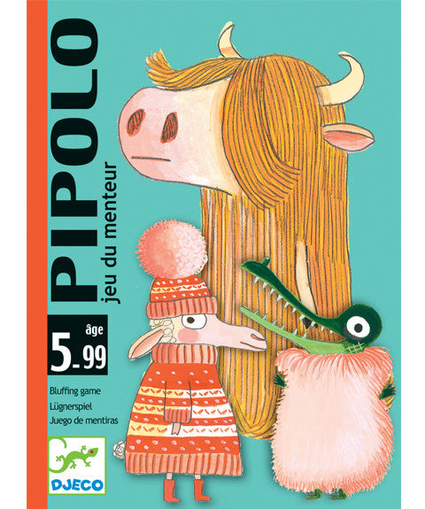 Card game - Pipolo by Djeco