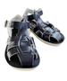 Shark Sandal in Navy By Sun-San