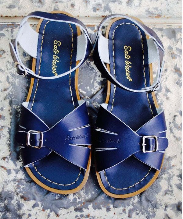 Classic Saltwater Sandal in Navy New for 2016
