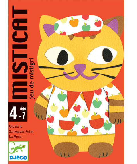 Card Game - Misticat by Djeco