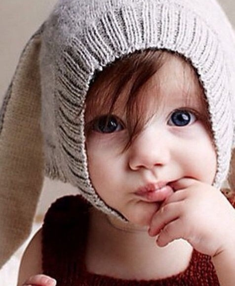 Baby Bunny Hat with Rabbit Ears