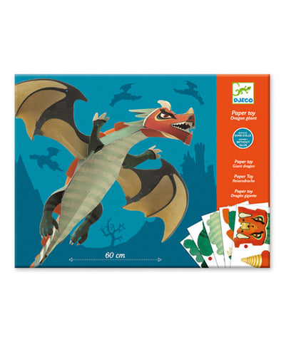 Paper toy - Giant Dragon