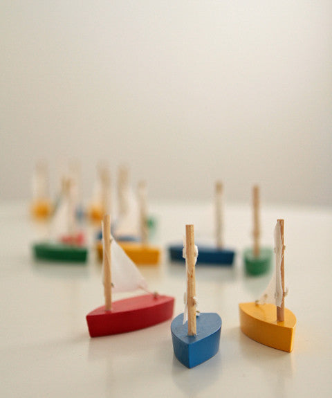 Mini wooden Boat