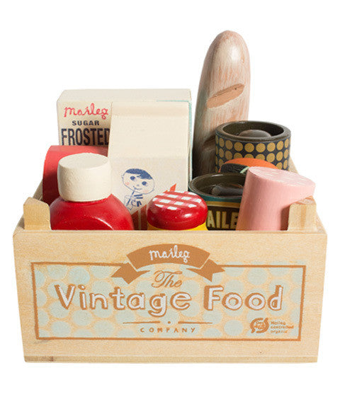 Vintage Food Grocery Box by maileg