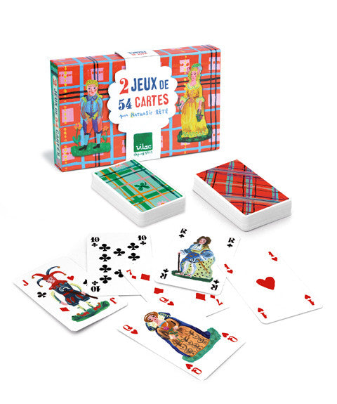 Set sets of Playing Cards by Nathalie Lete