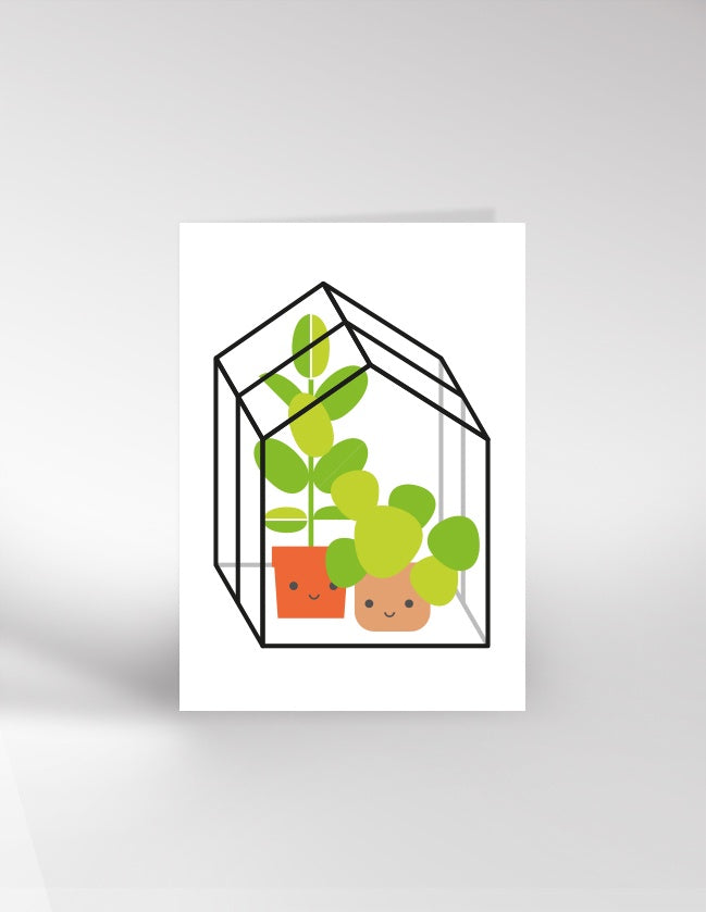 Greenhouse Card by Dicky Bird