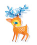 Shrinky Jewels - The Fawn & the Bird by Djeco