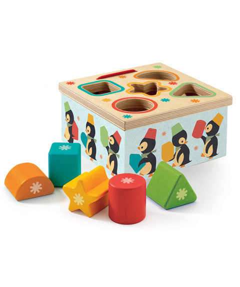 Geo Junzo - Sorting Box by Djeco