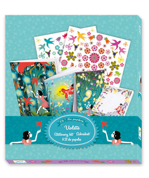 Violette - Stationary Set