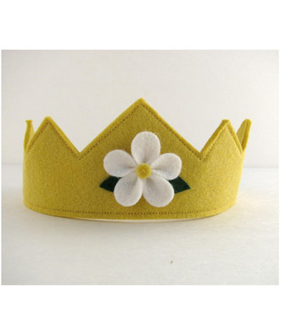 Felt Crown with Flower