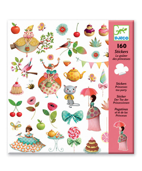 Stickers - Princess Tea Party