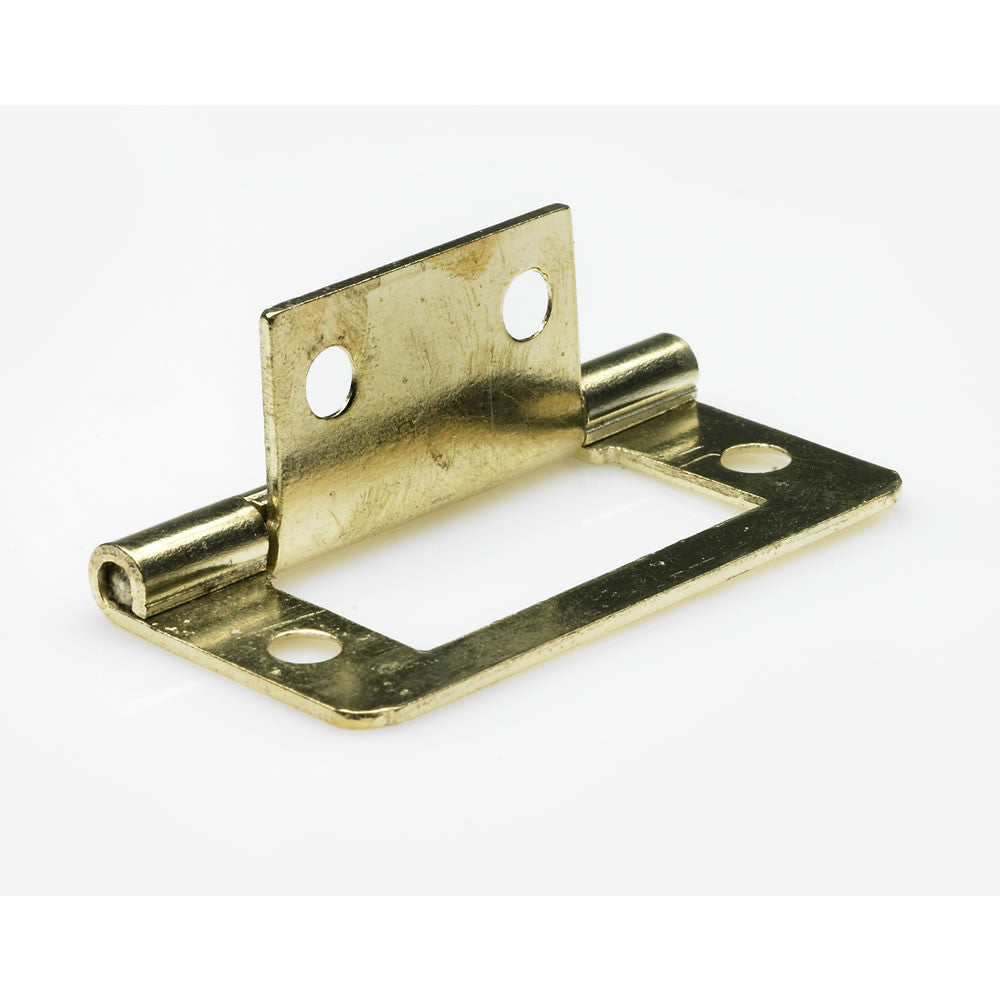 Electro Brass Flush Hinge - RKL Tools & Hardware  - 2