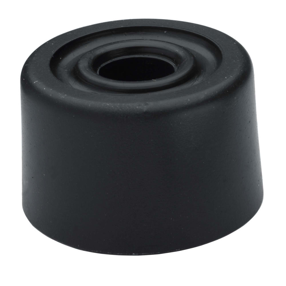 Door Stop - Black Rubber