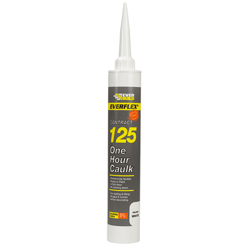 Everflex 125 One Hour Caulk - White - C3