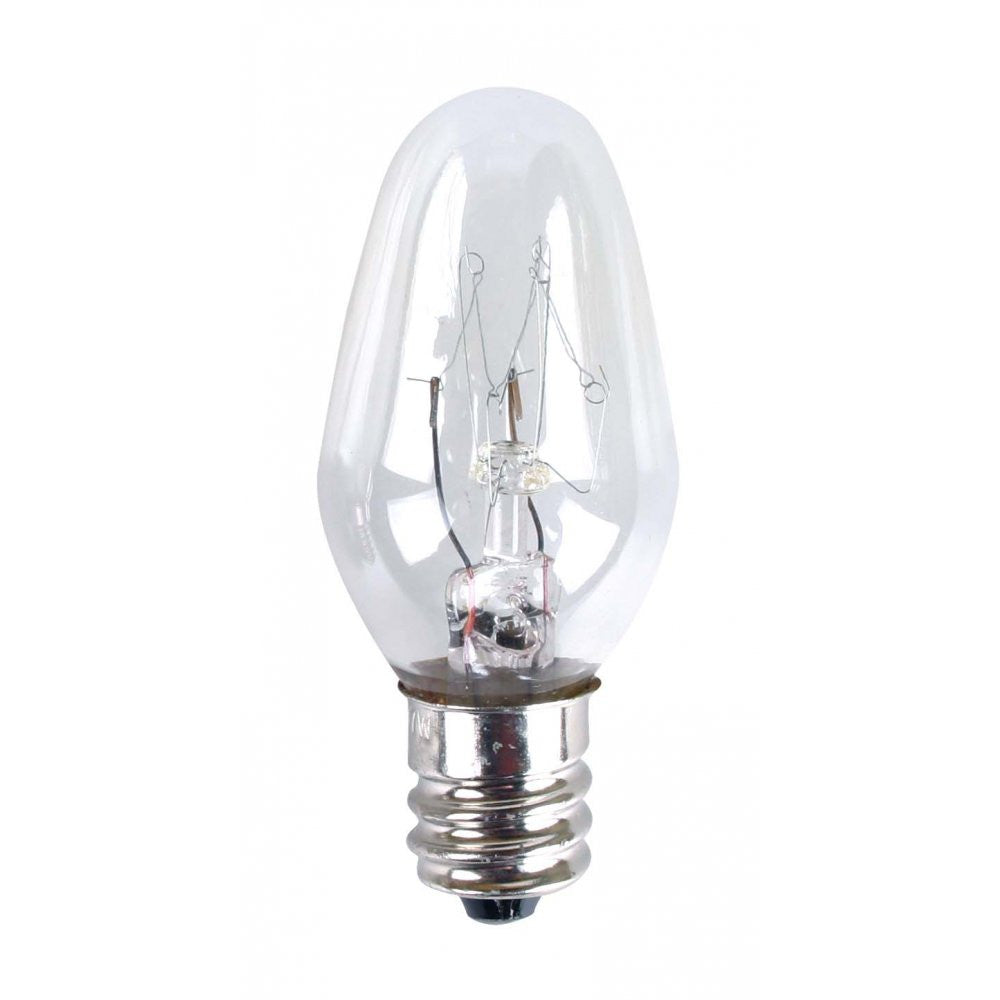Eveready Night Light Bulb - E12 Small Edison Screw - 7w - Twin Pack