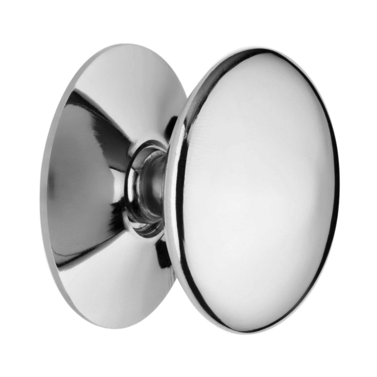 Chrome Plated Brass Victorian Style Pull Knob - RKL Tools & Hardware  - 1