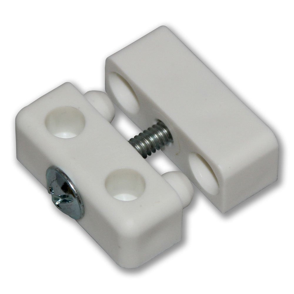 Knockdown Fitting - White (Pack of 4)