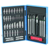 Toolzone - 57 Piece Hobby Craft Knife Set - RKL Tools & Hardware