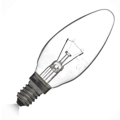 Eveready Candle Bulb - Clear - Small Edison Screw E14 - RKL Tools & Hardware  - 1
