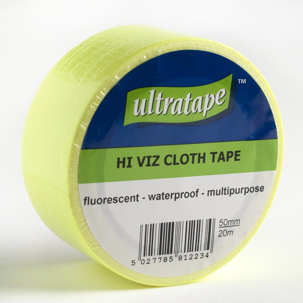Ultratape - Hi Viz Waterproof Cloth Tape - 20m x 50mm