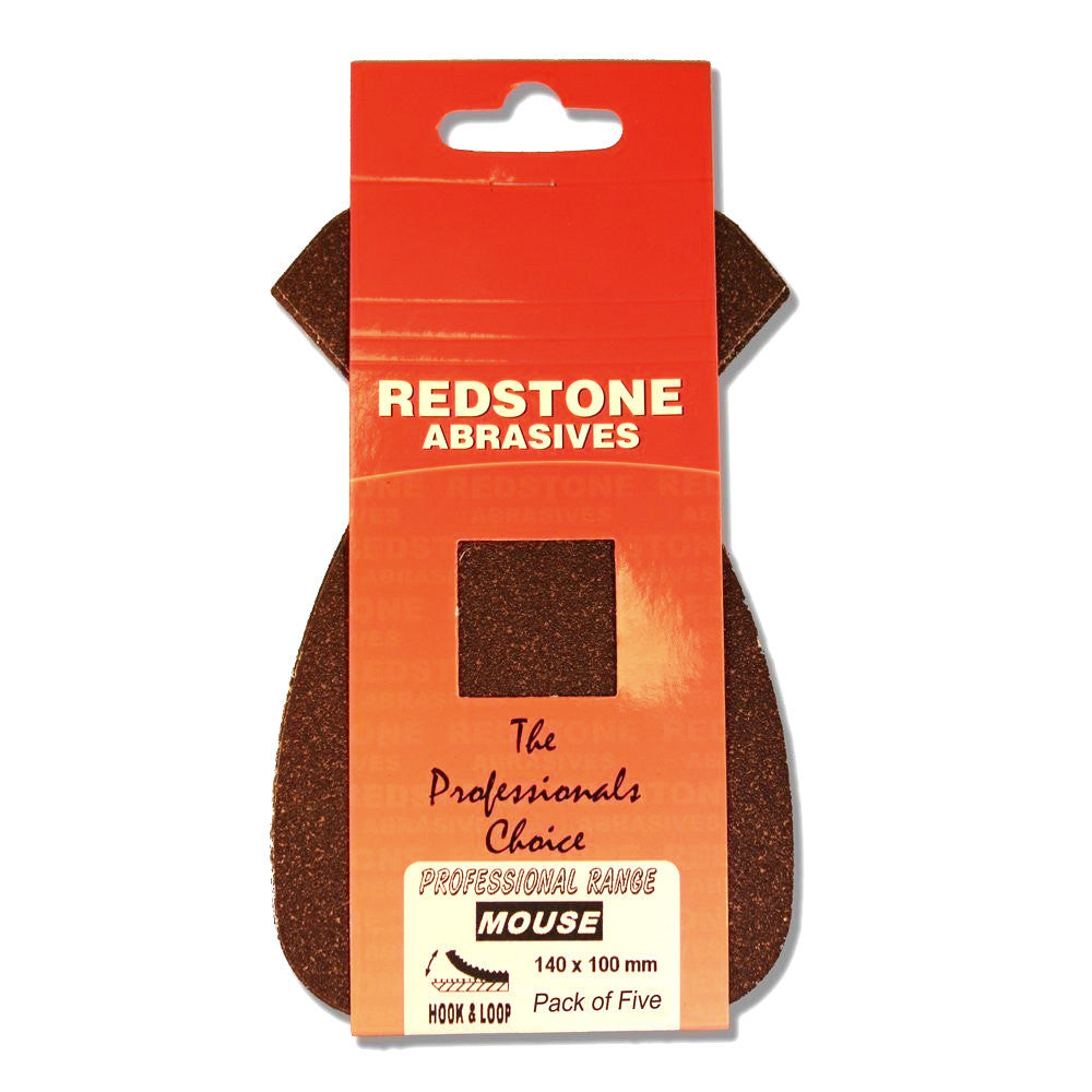 Redstone - Mouse Sanding Pads - Hook & Loop