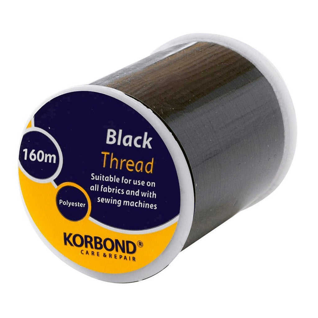 Korbond - Black Thread - 160 Meters