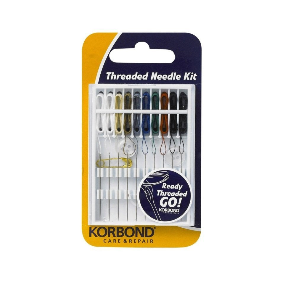 Korbond - 10 Pre-Threaded Needle Kit