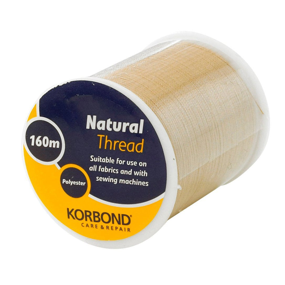 Korbond - Natural Thread 160 Meters - RKL Tools & Hardware