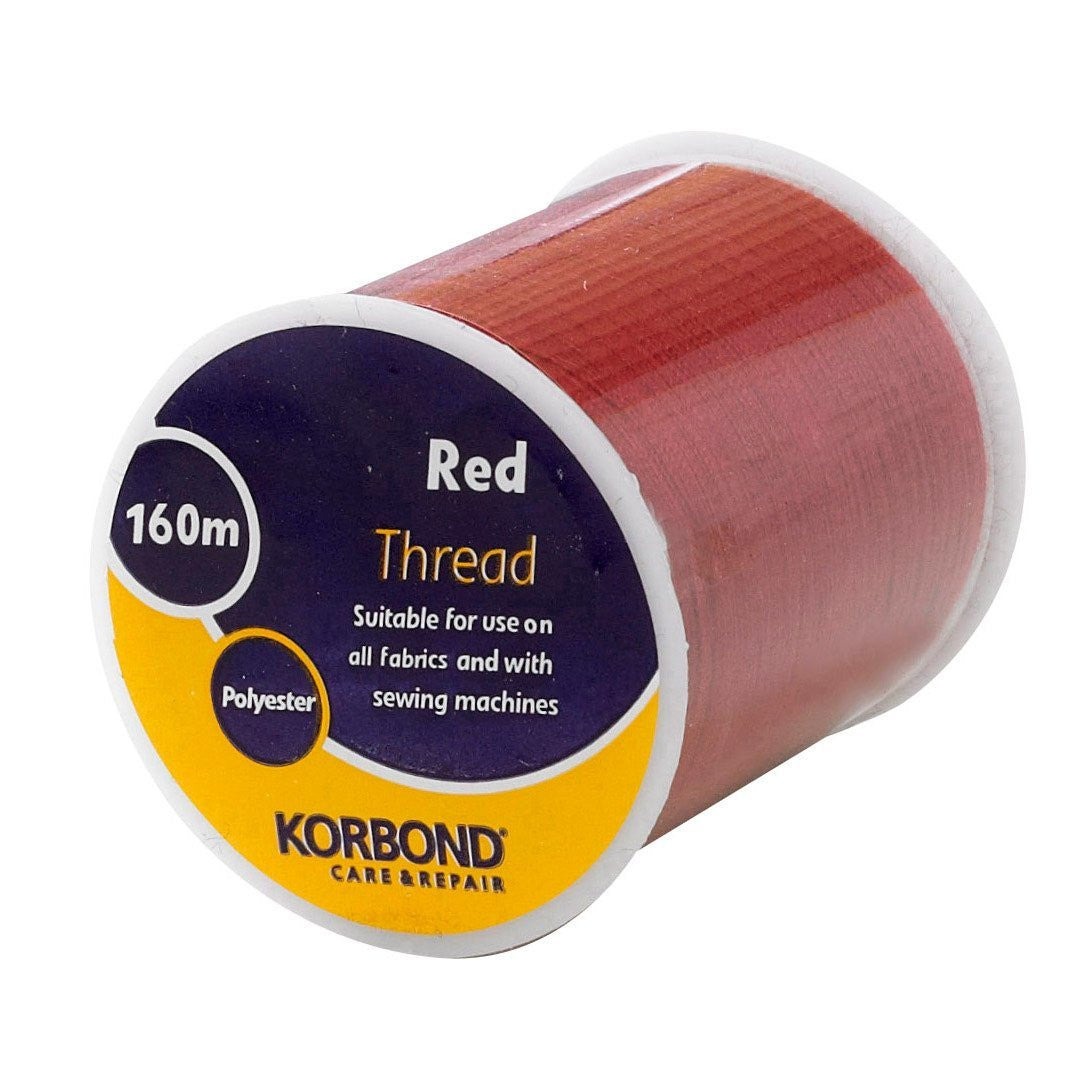 Korbond - Red Thread - 160 Meters - RKL Tools & Hardware