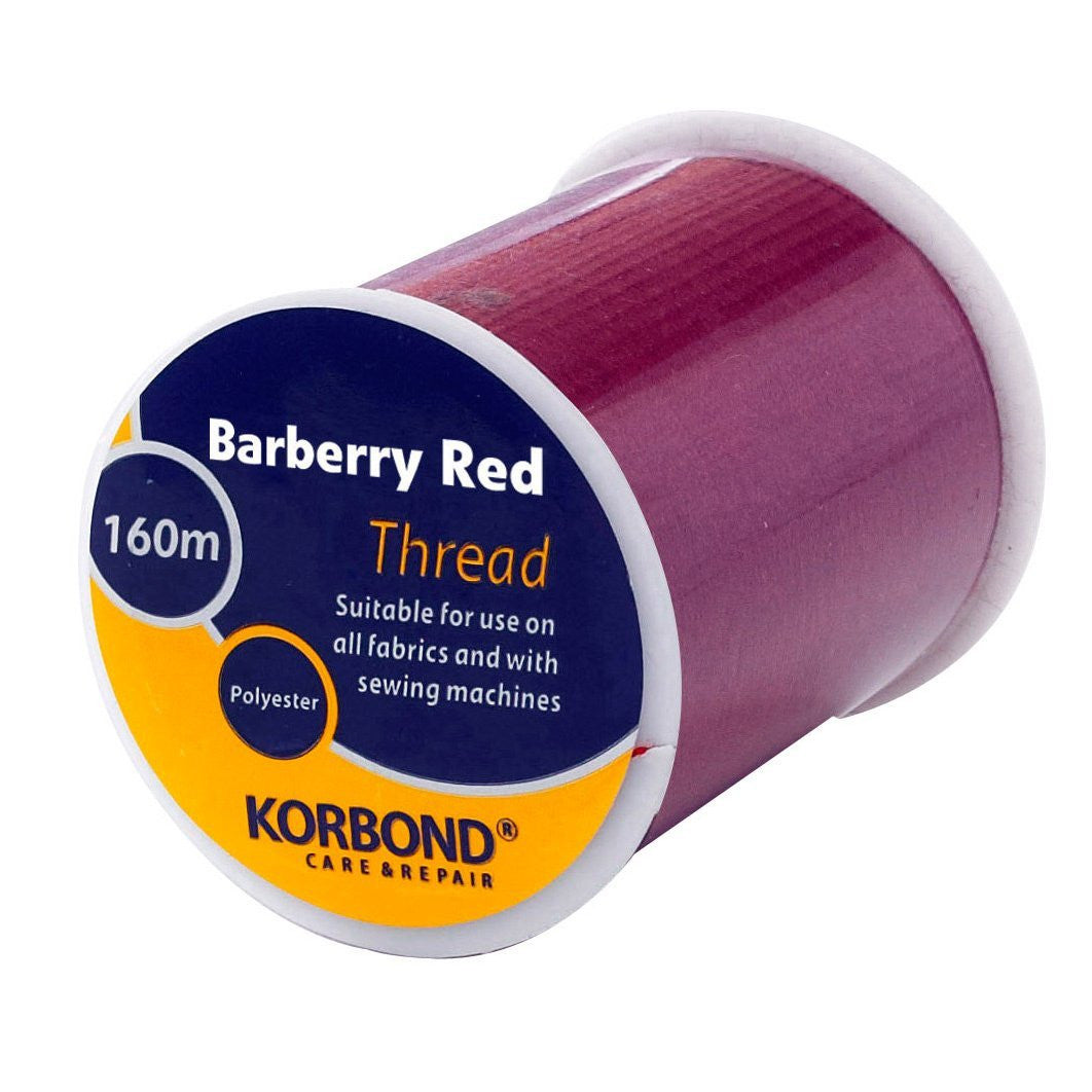 Korbond - Barberry Red Thread - 160 Meters - RKL Tools & Hardware