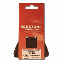 Redstone - Delta Sanding Pads - Hook & Loop - RKL Tools & Hardware  - 1