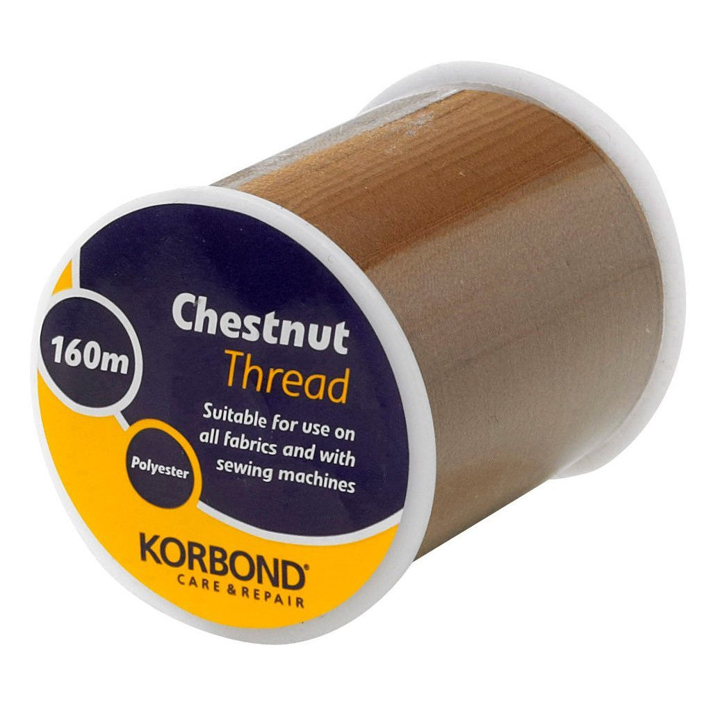 Korbond - Chestnut Thread - 160 Meters