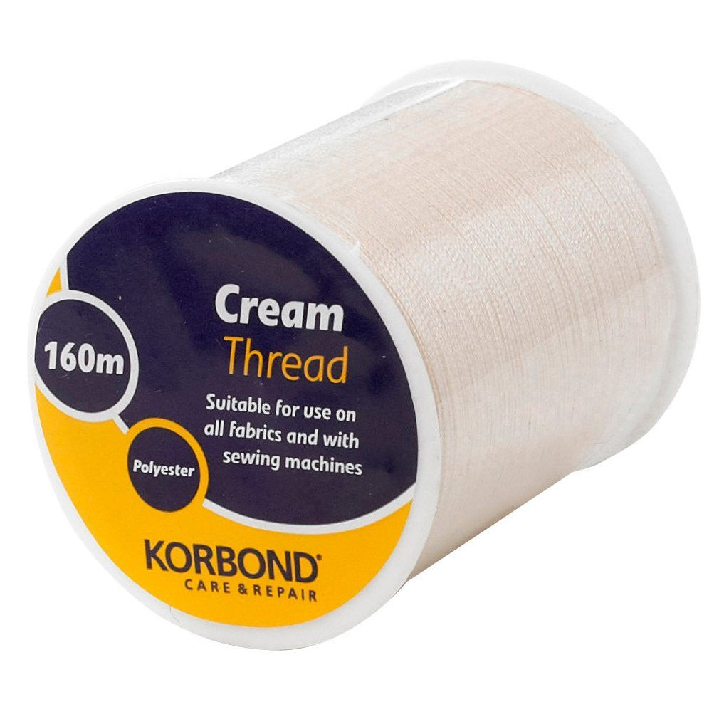 Korbond - Cream Thread - 160 Meter