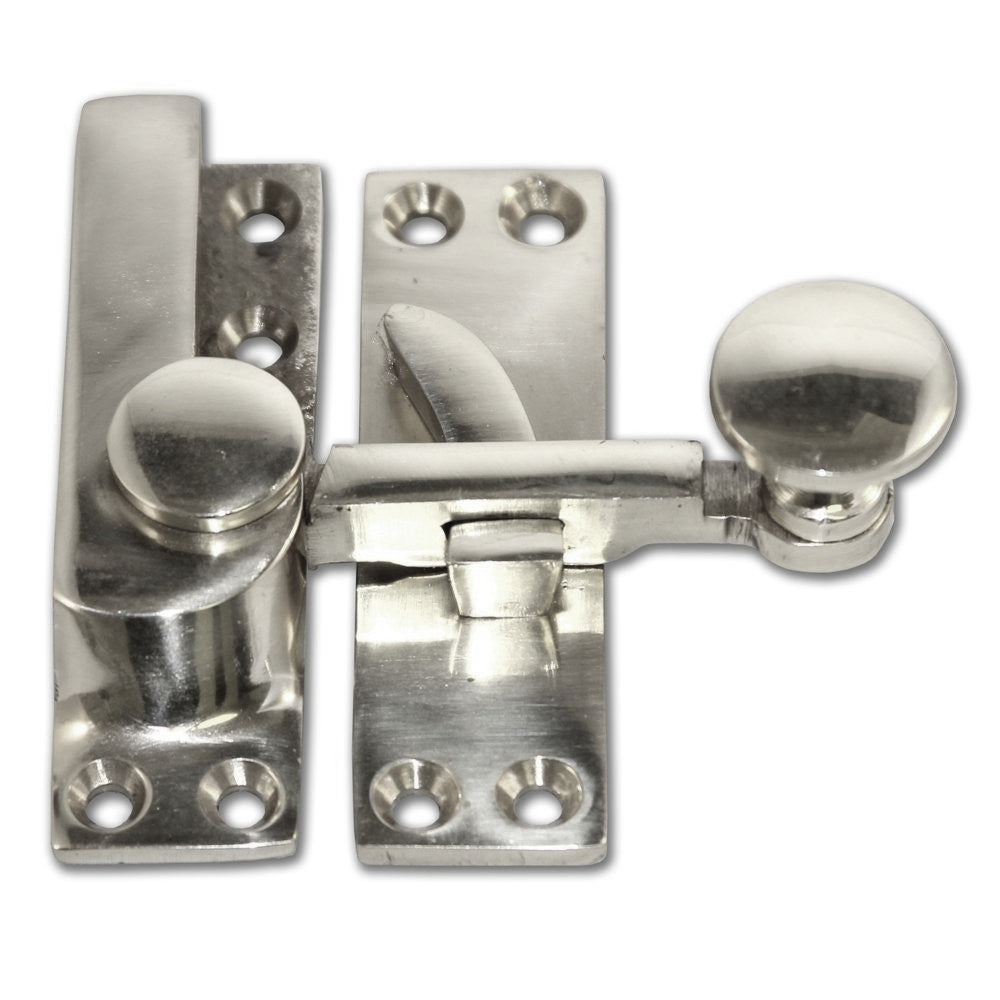 Chrome Arm Sash Window Fastener (Pack of 1)