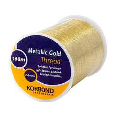 Korbond - Metallic Gold Thread 160 Meters - RKL Tools & Hardware