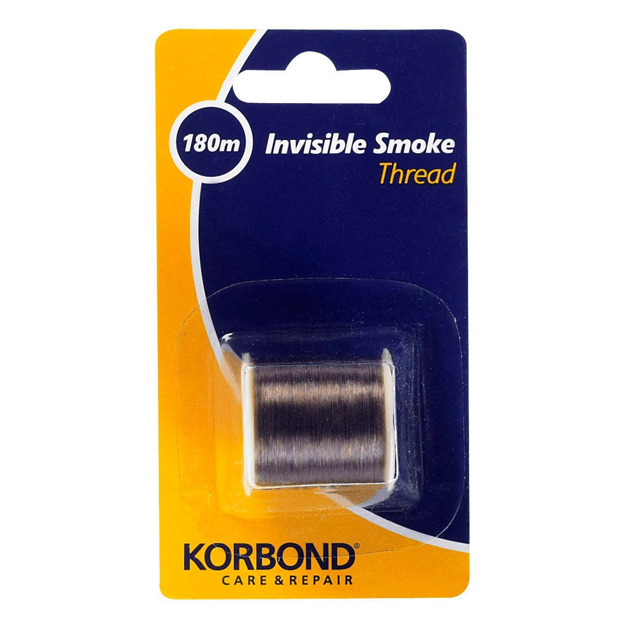 Korbond - Invisble Smoke Thread - 180 Meters - RKL Tools & Hardware