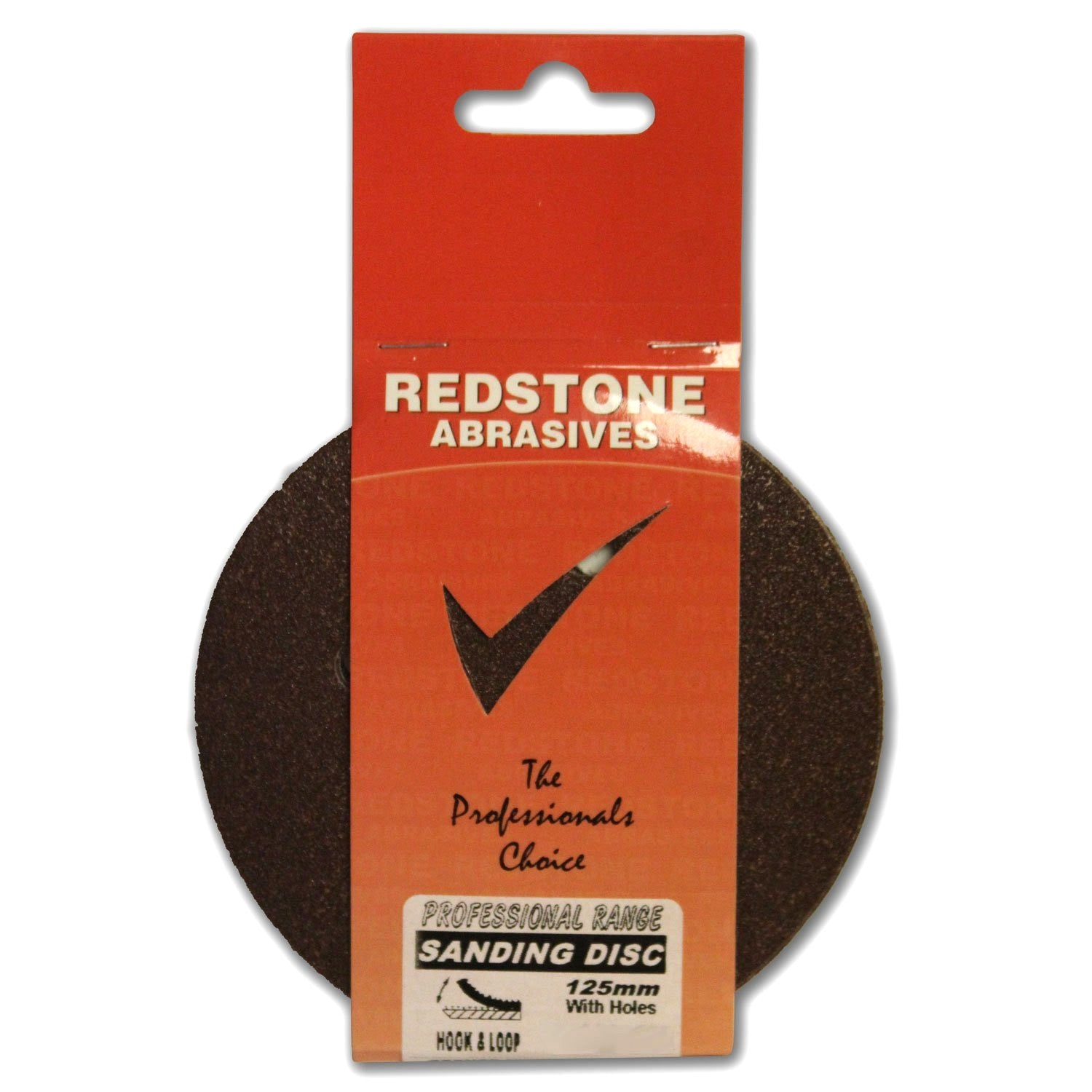 Redstone - 125mm Disc Sanding Pads - Hook & Loop - RKL Tools & Hardware  - 1