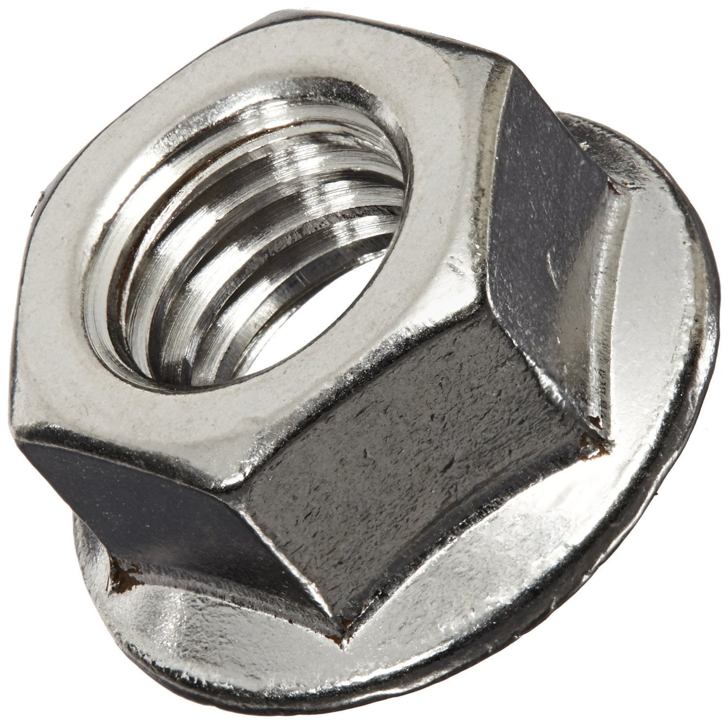Stainless Steel Hex Flange Nut - RKL Tools & Hardware  - 1