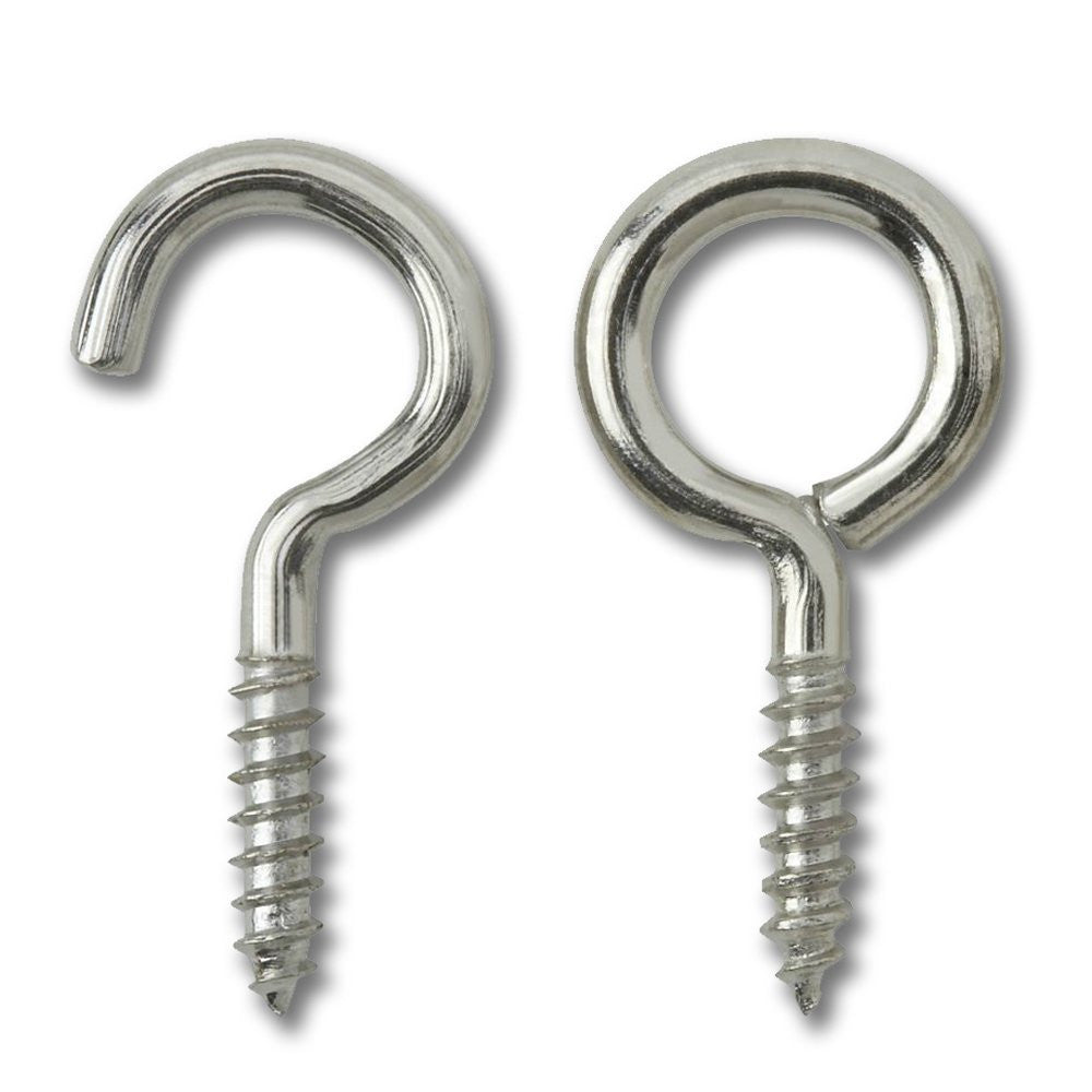 Curtain Hook & Eye Set (Pack of 15)