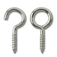 Curtain Hook & Eye Set (Pack of 15) - RKL Tools & Hardware