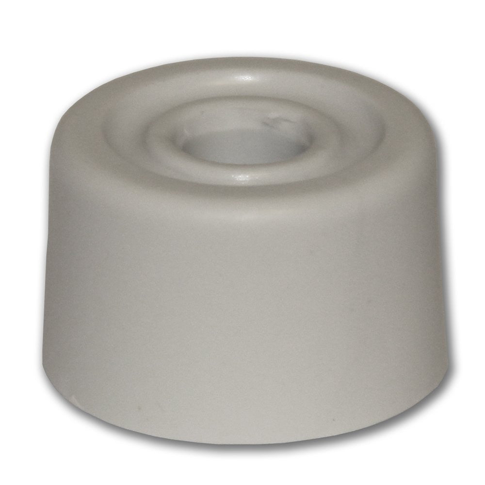 Door Stop - White Rubber